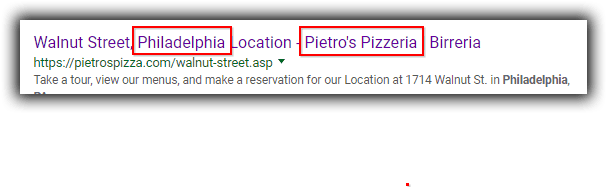 How To Do Local SEO | Pietros Title Tag | B-SeenOnTop